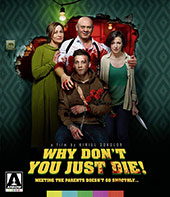 Why Don't You Just Die! Blu-Ray Cover