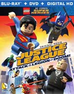 Lego DC Comics Super Heroes: Justice League: Attack of the Legion of Doom! Blu-Ray Cover