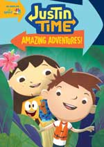 DVD Cover for Jutin Time