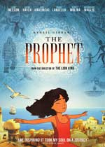 DVD Cover for Khalil Gibran's The Prophet