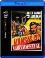 Kansas City Confidential Blu-Ray Cover