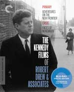 The Criterion Collection Blu-Ray Cover for The Kennedy Films of Robert Drews & Associates