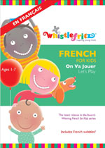 DVD Cover for French for Kids: On Va Jouer (Let's Play)