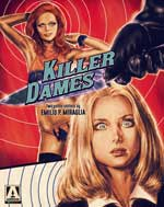 DVD Cover for Killer Dames: Two Gothic Chilllers by Emilio P. Miraglia
