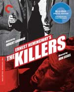 Criterion Colleciton Blu-ray cover for The Killers