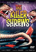 DVD Cover for The Killer Shrews