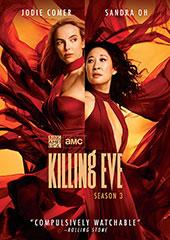 Killing Eve, Season 3 Blu-Ray Cover