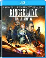 Kingsglaive: Final Fantasy XV Blu-Ray Cover