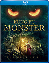Kung Fu Monster Blu-Ray Cover