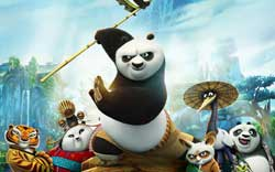 Jack Black as Po the Panda gets the crew back together for the top animated film of 2016, Kung Fu Panda 3