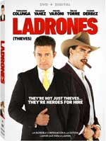 DVD Cover for Ladrones