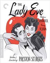 The Lady Eve Criterion Collection Blu-Ray Cover
