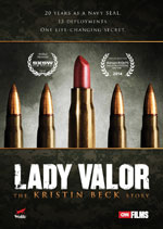 DVD Cover for Lady Valor: The Kristin Beck Story