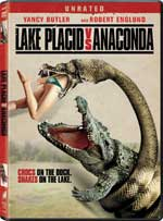 DVD Cover for Lake Placid vs. Anaconda