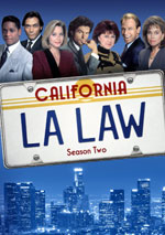 DVD Cover for L.A. Law: The Complete Second Season