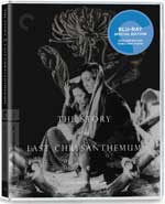 The Story of the Last Chrysanthemum Criterion Collection Blu-Ray Cover