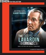 DVD Cover for The Inspector Lavardin Collection
