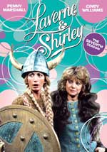 Lavern & Shirley - The Seventh Season DVD Cover