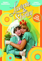 DVD Cover for Laverne and Shirley the Eighth and Final Season