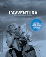 The Criterion Collection Blu-Ray cover for L'avventura