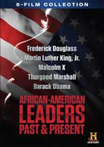 African-American Leaders: Past and Present DVD Cover