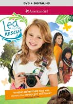 DVD Cover for American Girl: Lea to teh Rescue