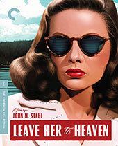 Leave Her to Heaven Criterion Collection Blu-Ray Cover