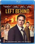 Blu-Ray Cover for Left Behind