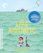 Criterion Collection Blu-Ray Cover for the Life Aquatic with Steve Zissou