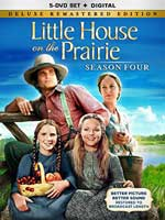 DVD Cover for Little House on the Prarie - Season Four Deluxe Remastered Edition