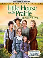 DVD Cover for Little House on the Prarie Season Seven