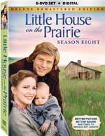 DVD Cover for Little House on the Prarie: Season 8 Deluxe Remastered Edition