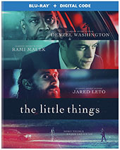 The Little Things Blu-Ray Cover