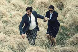 Colin Farrell and Rachel Weitz try to fina a connection in The Lobster.