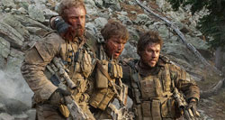 Band of Brothers: Ben Foster, Emile Hirsh and Mark Wahlberg in the top 2013 War Movie, Lone Survivor.