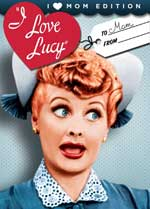 DVD Cover for I Love Lucy: I Heart Mom Edition