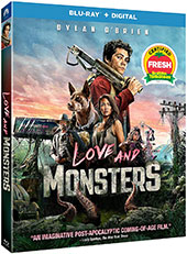 Love and Monsters Blu-Ray Cover