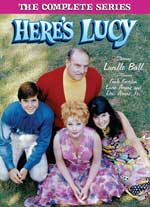 DVD Cover for Here's Lucy: The Complete Series