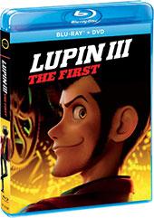 Lupin III: The First Blu-Ray Cover