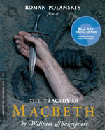 The Criterion Collection Blu-Ray Cover for Macbeth