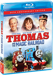 Thomas and the Magic Railroad Blu-Ray Cover
