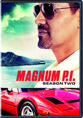 Magnum P.I.: Season Two DVD Cover