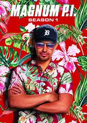 Magnum P.I.: Season One Blu-Ray Cover