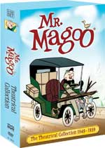 DVD Cover for The Mr. Magoo Theatrical Collection