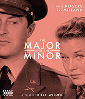 The Major and the Minor Blu-Ray Cover