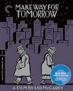 The Criterion Collection Blu-Ray Cover for Make Way for Tomorrow