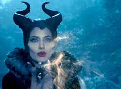 Angelina Jolie is wicked good in the top fantasy film of 2014, Maleficent.