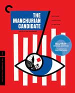 The Criterion Collection Blu-Ray Cover for The Manchurian Candidate