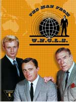 The Man from U.N.C.L.E.: The Complete First Season DVD Cover