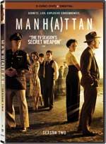 DVD Cover for Manhattan: Season 2